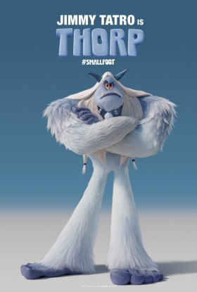 Smallfoot Character Poster - Jimmy Tatro is Thorp.