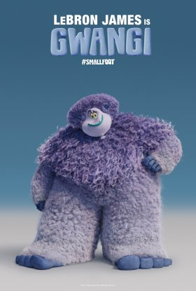 Smallfoot Character Poster Lebron James Is Gwangi