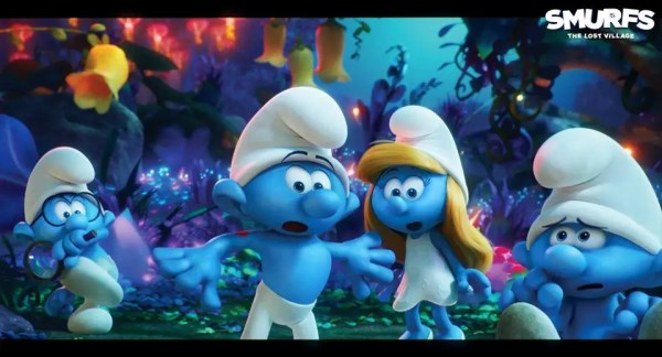 Smurfs The Lost Village 2017 All-Animated movie