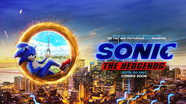 Sonic The Hedgehog Movie 2020