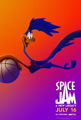 Space Jam 2 Character Poster - The roadrunner