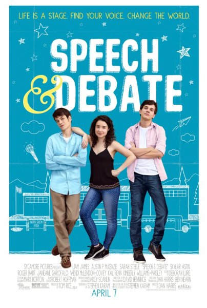 Speech And Debate Movie Psoter
