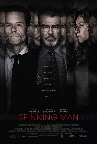 Spinning Man Movie Poster