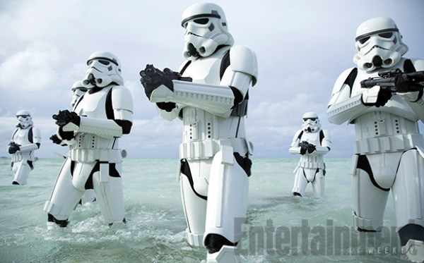 Star Wars Rogue One - White Stormtroopers