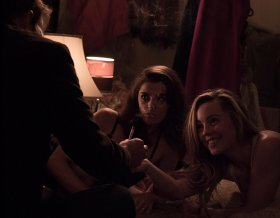 Stephen Dorff, Melissa George, and Aoibhinn McGinnity in the movie Don't Go