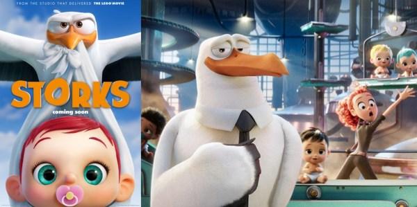Storks Animated Movie 2016