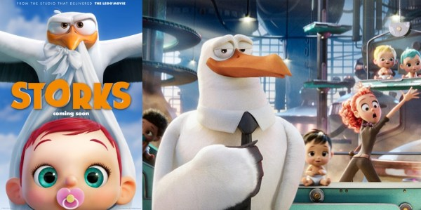 Storks Animated Movie 2016