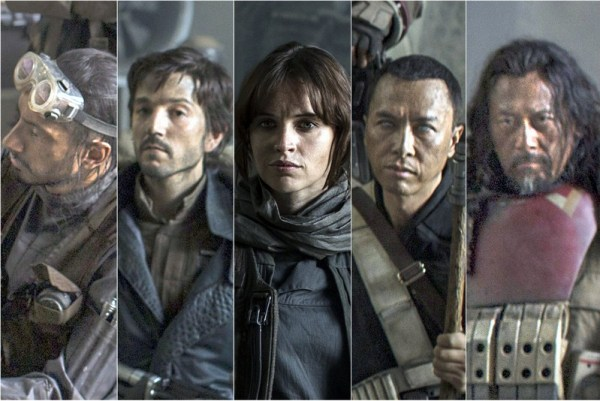 Stra Wars Rogue One Main Cast