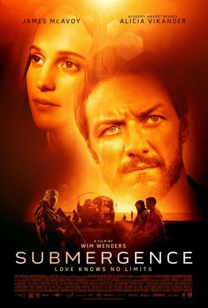 Submergence New Film Poster