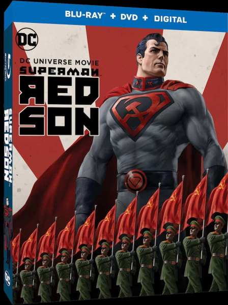 Superman Red Son Movie DVD Cover