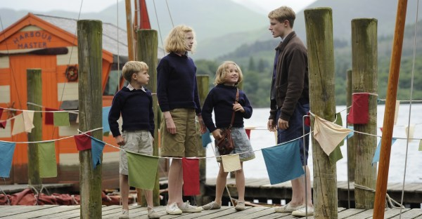 Swallows and Amazons 2016 movie