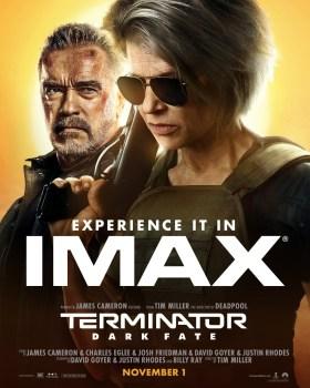 Terminator Dark Fate New IMAX Poster