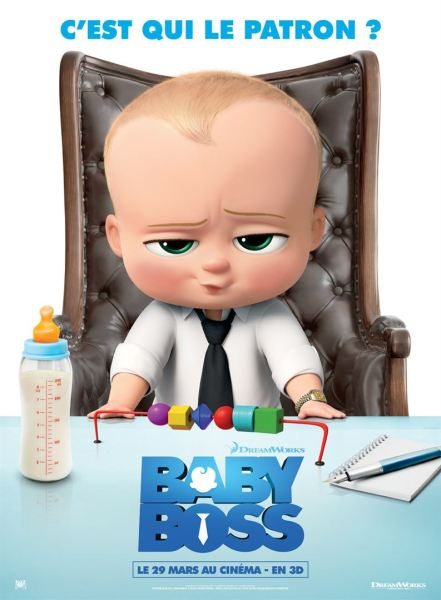 The Boss Baby French Poster