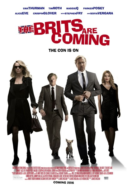 The Brits Are Coming Movie Poster