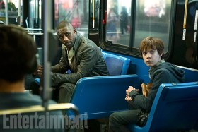 The Dark Tower - Idris Elba (L) and Tom Taylor