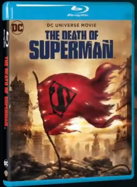 The Death Of Superman Movie Poster
