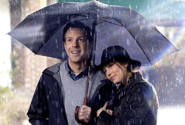 Jason Sudeikis and Jessica Biel