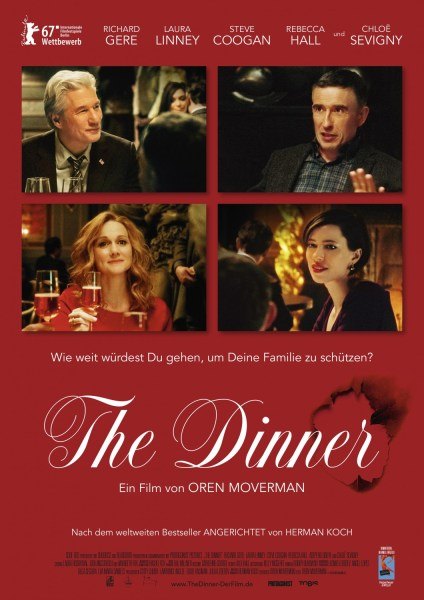 The Dinner German Poster