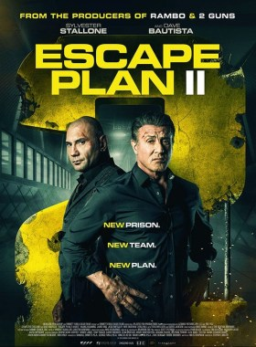 The Escape Plan 2 UK Poster