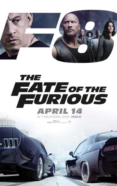 The Fate Of The Furious Movie - F8