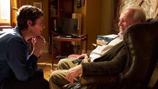 The Father Movie - Olivia Colman And Anthony Hopkins