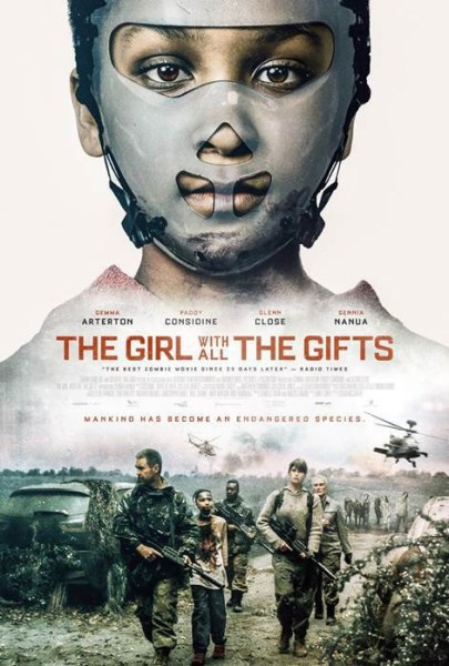 The Girl With All The Gifts - Science Fiction Movie New Poster