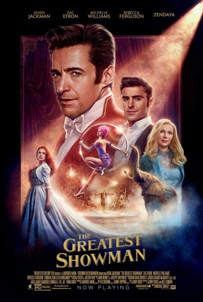 The Greatest Showman New Film Poster