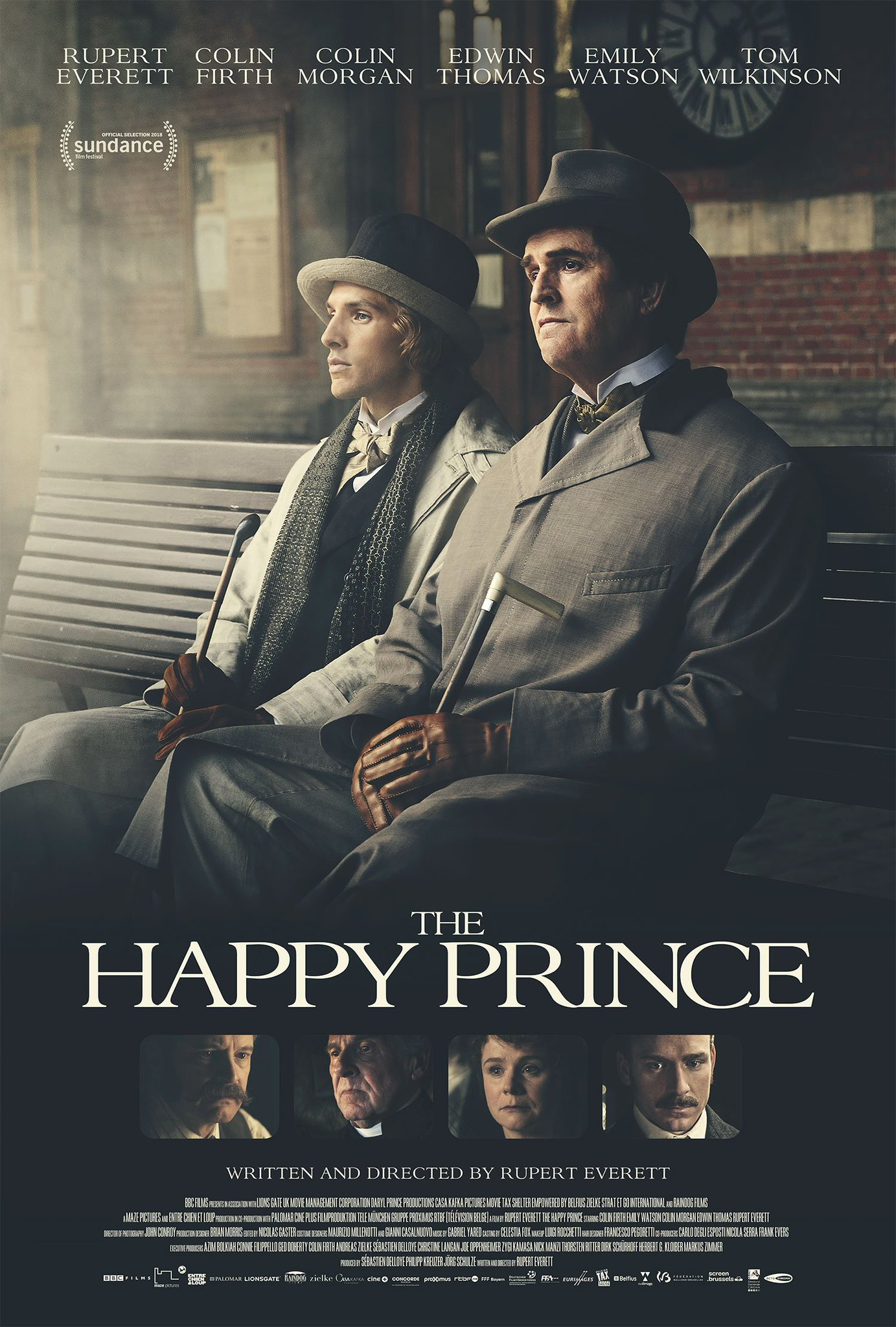 The Happy Prince Movie Poster : Teaser Trailer
