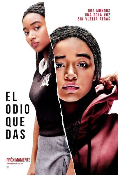 The Hate U Give Mexican Poster