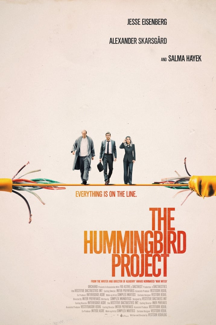 "Image result for ""The Hummingbird Project"" Poster"