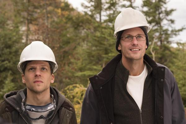 The Hummingbird Project Movie - Jesse Eisenberg and Alexander Skarsgard
