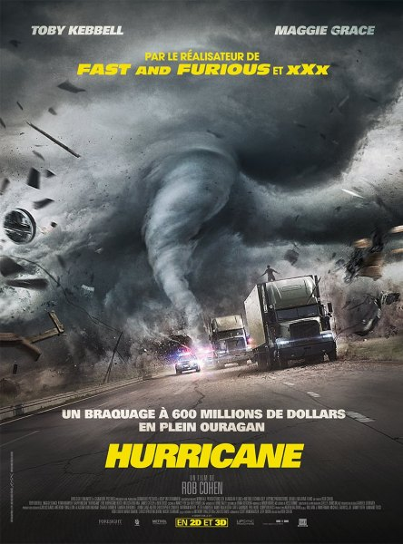 The Hurricane Heist Movie French Poster