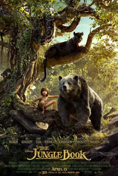 The Jungle Book - Mowgli, Baloo and Bagheera