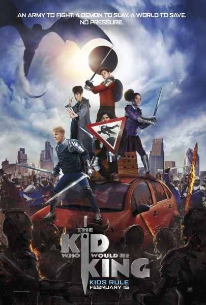 The Kid Who Would Be King New Poster