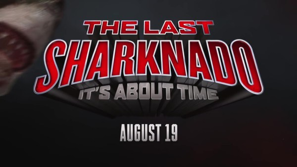 The Last Sharknado It's About Time Movie