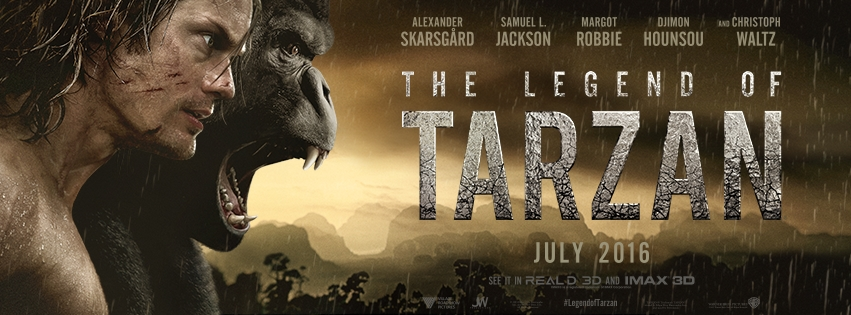 Movies 2016 Posters: The Legend Of Tarzan Movie Trailer : Teaser Trailer