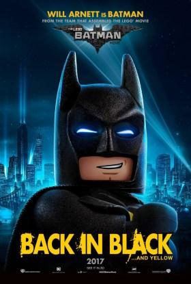 The Lego Batman Movie Character Poster - Batman - Back in black