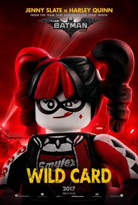 The Lego Batman Movie Character Poster - Harley Quinn, wildcard