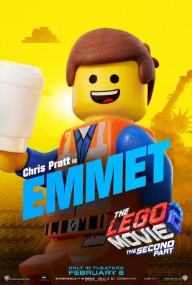 The Lego Movie 2 Character Poster - Emmet