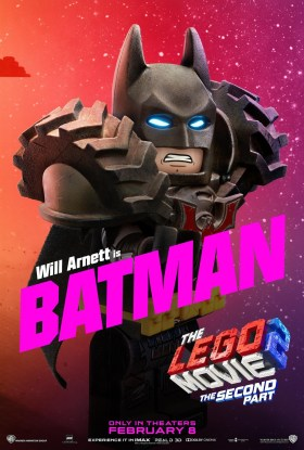The Lego Movie 2 Character Poster - Batman