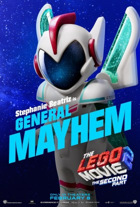 The Lego Movie 2 Character Poster -General Mayhem