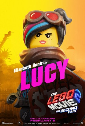 The Lego Movie 2 Character Poster - Lucy