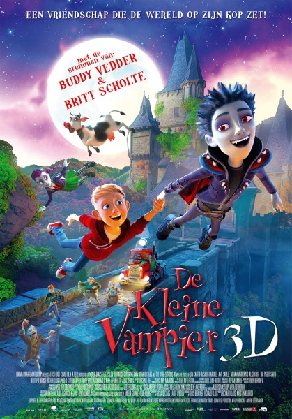 The Little Vampire 3D Dutch Poster
