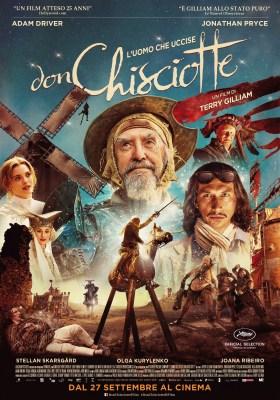 The Man Who Killed Don Quixote Italian Poster