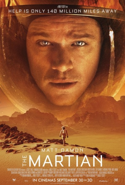 Der Marsianer Rettet Mark Watney neues Poster - Matt Damon