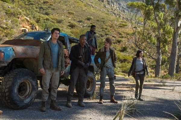 The Maze Runner 3 The Death Cure Movie