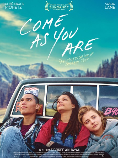 The Miseducation Of Cameron Post Movie poster from France - Come As You Are Film