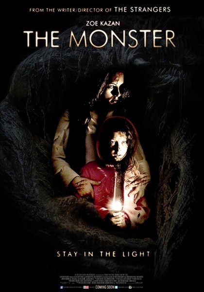 The Monster Stay In The Light Poster