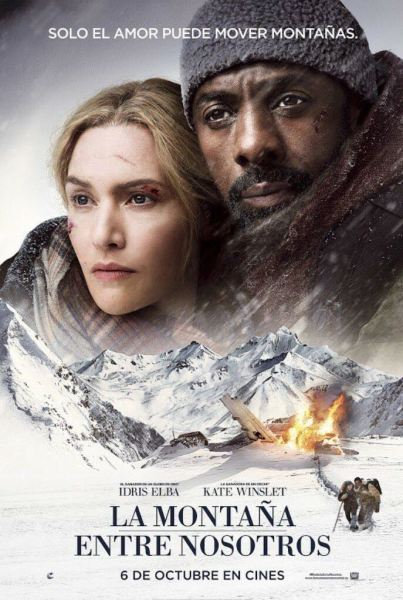 The Mountain Between Us Spanish Poster