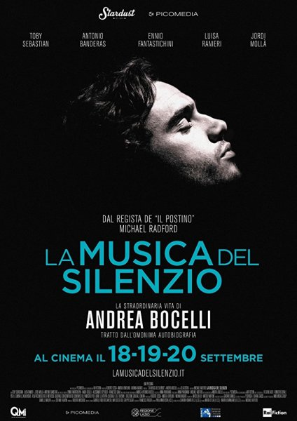 The Music Of Silence Film Italian Poster